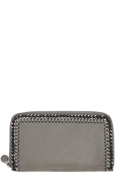 Stella McCartney - Grey Falabella Zip Wallet