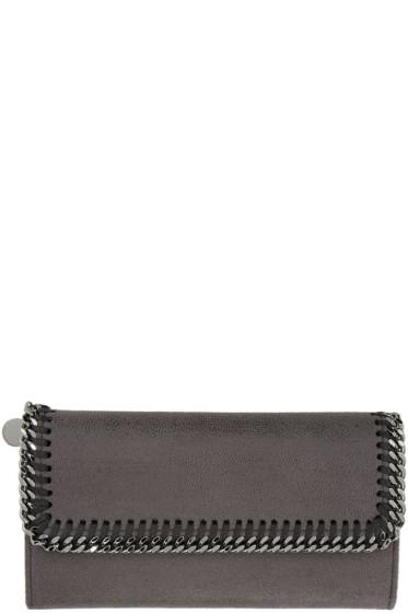 Stella McCartney - Grey Falabella Continental Flap Wallet
