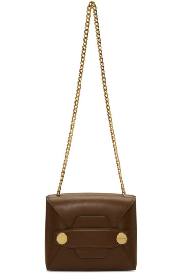 Stella McCartney - Brown Small Stella Popper Bag