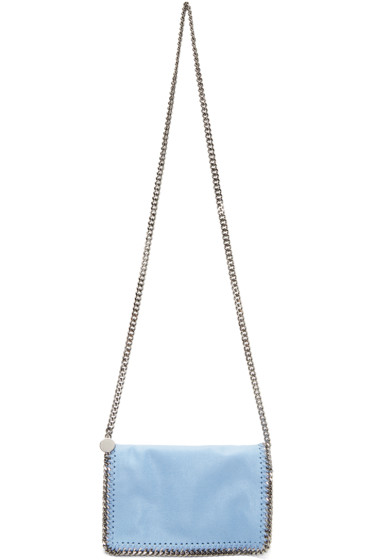 Stella McCartney - Blue Falabella Cross Body Bag
