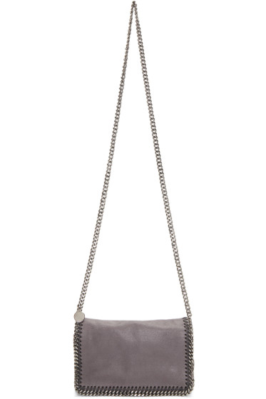 Stella McCartney - Grey Falabella Cross Body Bag