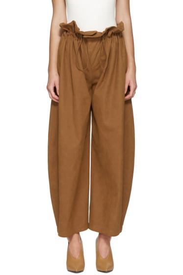 Stella McCartney - Tan Benni Trousers