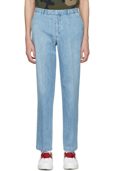 Valentino - Blue Denim Trousers