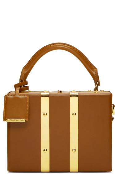 Sophie Hulme - Tan Mini Albany Suitcase Bag