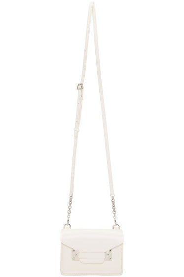 Sophie Hulme - White Nano Milner Crossbody Bag