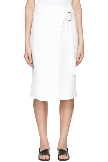 Calvin Klein Collection - White Labianca Skirt