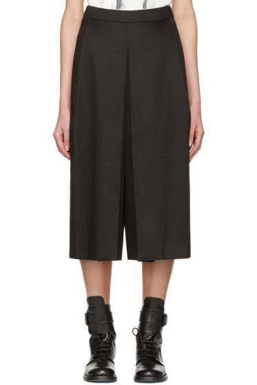 Yang Li - Black Wide Culottes
