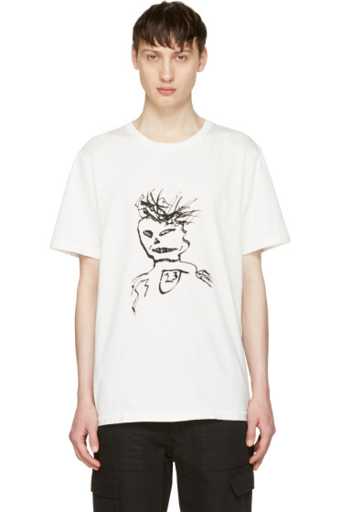 Yang Li - White William Burroughs T-Shirt
