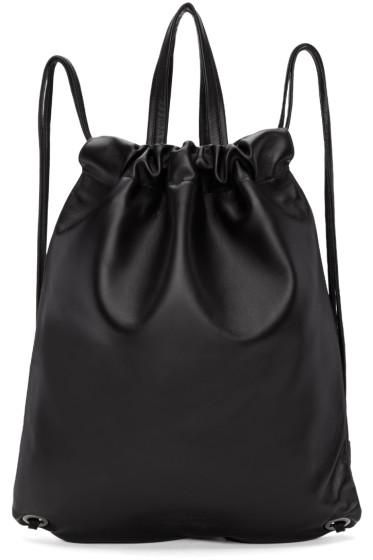 Robert Clergerie - Black Leather Sporty Backpack