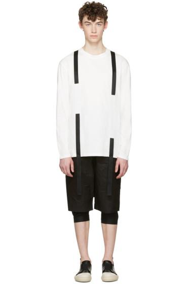 D.Gnak by Kang.D - White Straps T-Shirt