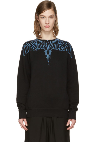 Marcelo Burlon County of Milan - SSENSE Exclusive Black Aleta Pullover