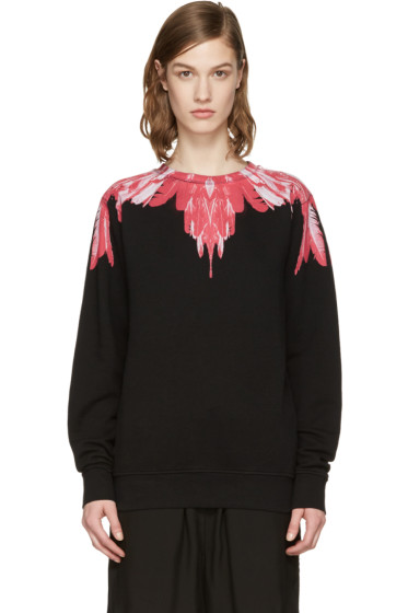 Marcelo Burlon County of Milan - SSENSE Exclusive Black Izar Pullover