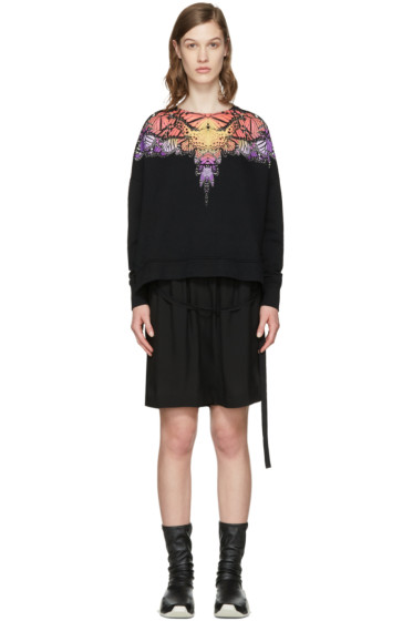 Marcelo Burlon County of Milan - Black Filipa Poncho Pullover