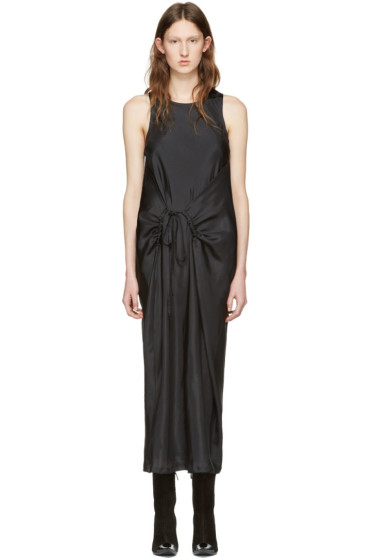Haider Ackermann - Black Silk Tank Dress