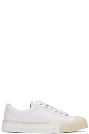 Adieu - White Type W.O. Sneakers
