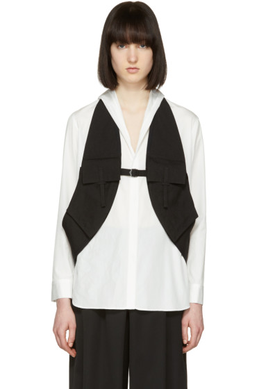 Yohji Yamamoto - Black Linen Vest