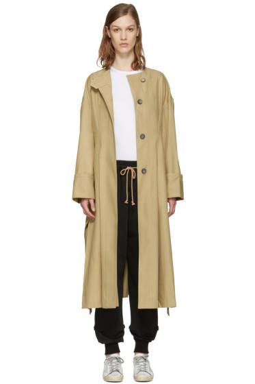 Isabel Marant - Beige Slater Trench Coat