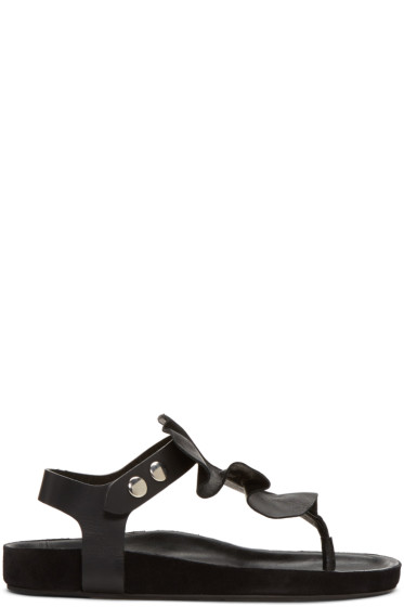 Isabel Marant - Black Leakey Sandals