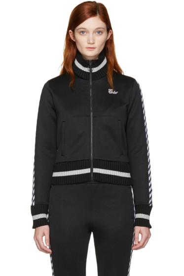 Off-White - Black Diagonal 'Woman' Track Jacket