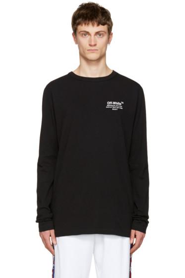 Off-White - Black 'Off' T-Shirt