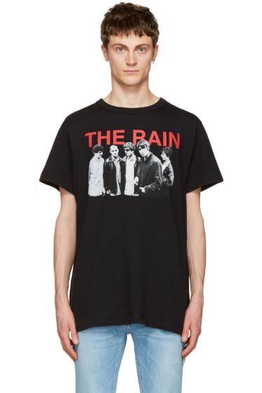 Off-White - Black 'Modernism' T-Shirt
