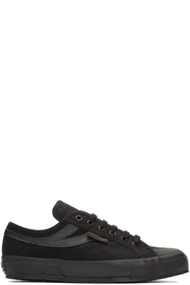 Gosha Rubchinskiy - Black Superga Sport Edition Sneakers