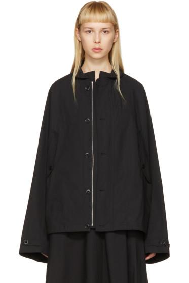 Lemaire - Black Raglan Jacket