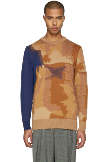 Etudes - Tan Mike Oxyd Sweater
