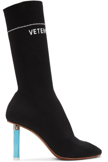 Vetements - Black Lighter Sock Boots