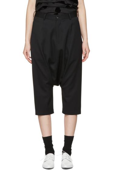 Comme des Garçons Girl - Black Cropped Drop Trousers