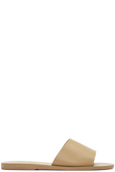 Ancient Greek Sandals - Brown Taygete Sandals