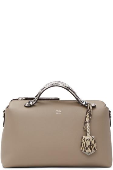 Fendi - Grey By The Way Boston Bag