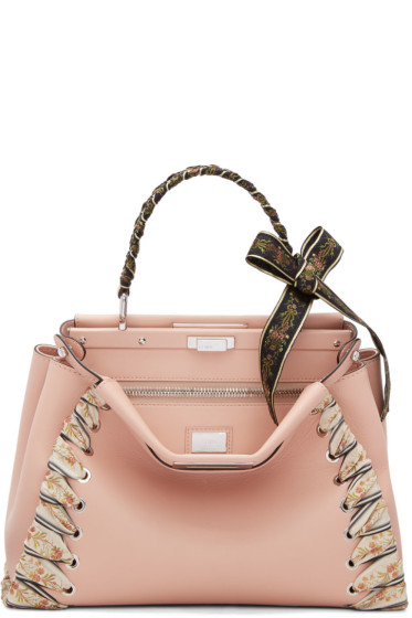Fendi - Pink Regular Peekaboo Bag