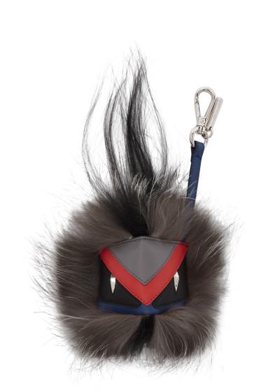 Fendi - Multicolor 'Bag Bugs' Keychain