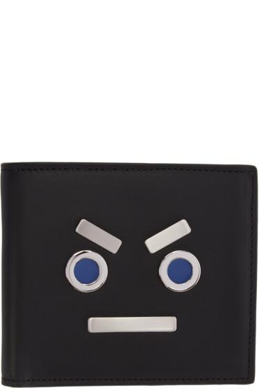 Fendi - Black 'Fendi Faces' Wallet