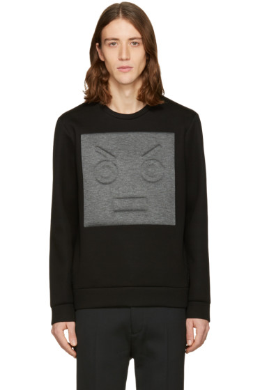 Fendi - Black Patch Pullover