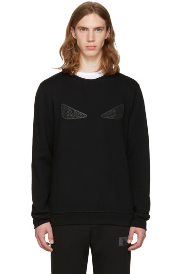 Fendi - Black 'Bag Bug' Pullover