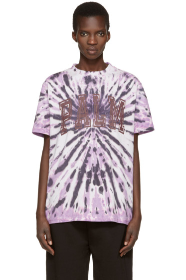 Palm Angels - Purple Tie-Dye T-Shirt