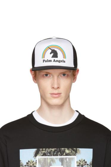 Palm Angels - Black & White Unicorn Cap