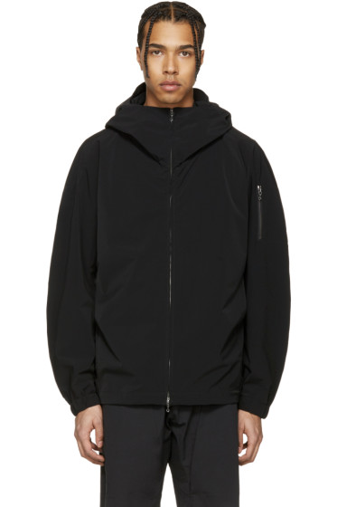 Attachment - Black Hooded Jacket