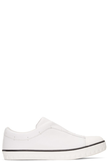 Attachment - White WHITEFLAGS Edition Slip-On Sneakers