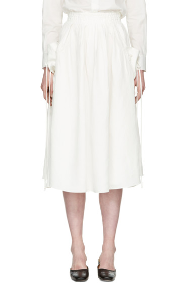 Brock Collection - White Stella Skirt