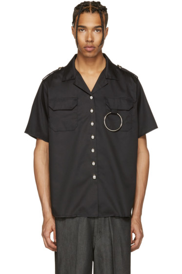 Marques Almeida - Black Two Pocket Shirt