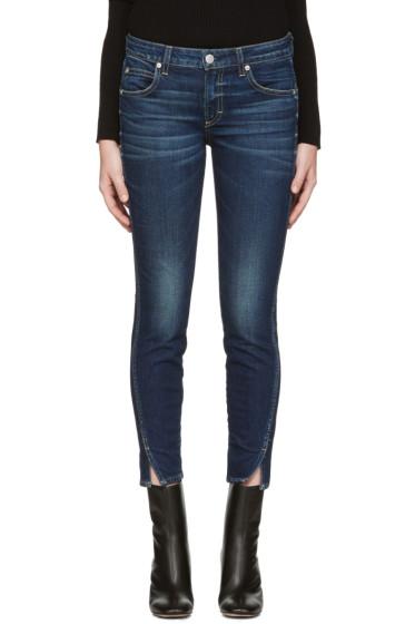 Amo - Blue Twist Jeans