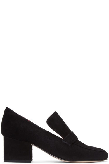 Dorateymur - Black Suede Turbojet Heels