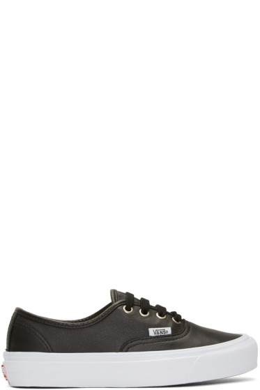 Vans - Baskets noires OG Authentic LX