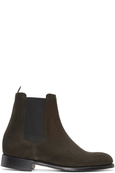 Éditions M.R  - Brown Chelsea Boots