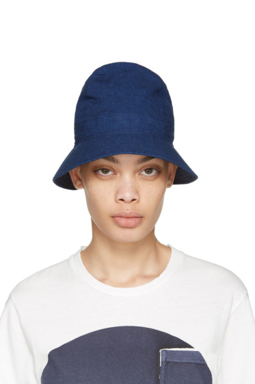 Blue Blue Japan - Blue Four Panel Bucket Hat