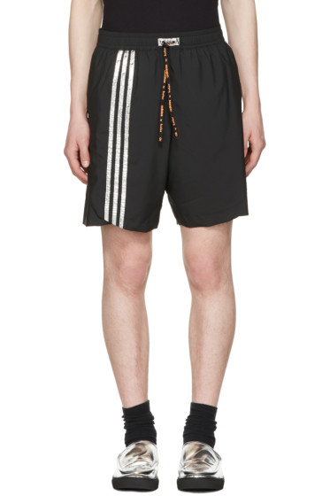 Adidas x Kolor - Black Track Shorts