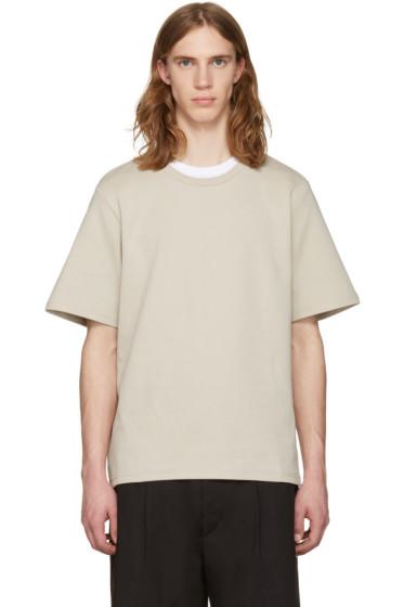 CMMN SWDN - Beige Miles T-Shirt